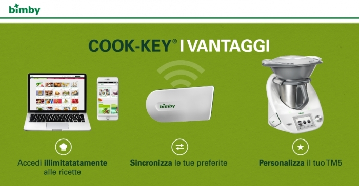ricette cook key