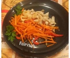 Seppie in insalata croccante all'aceto balsamico -contest settembre -
