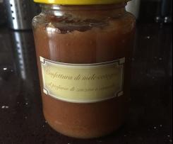 Confettura di mele cotogne con zenzero e cannella
