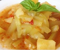 stufato di zucchina Lunga