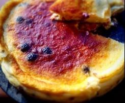 Torta di formaggio e more senza farina
