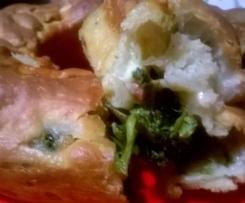 Tortano napoletano salsicce e friarielli