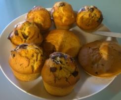 muffins senza glutine zucca cannella e cioccolato