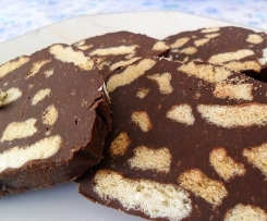 salame al cioccolato senza uova