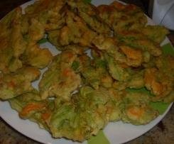 Frittelle con Fiori di Zucchina