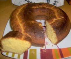 ciambella all'arancia.