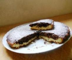 crostata di cioccolato e mandorle