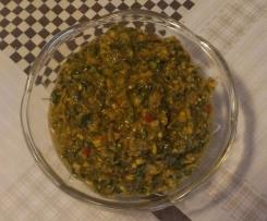 Pesto al songino