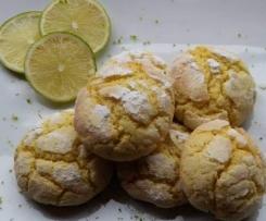 Biscotti Morbidi con Lime e Cocco