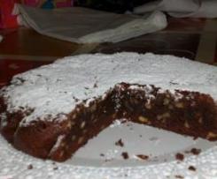 Torta cioccolato e noci