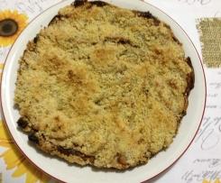 Panettone avanzato:torta pere e crumble