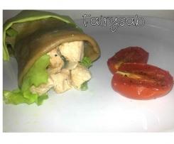 Chicken Wrap (Involtino di pollo al vapore)