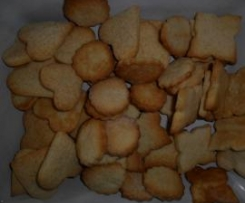 Biscotti semplici alla panna
