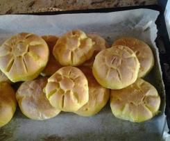 Rosette di pane alla Zucca