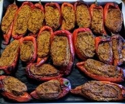 Peperoni ripieni vegan