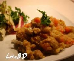 Spezzatino di soia al curry