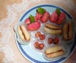 frutta assortita con crema pasticcera