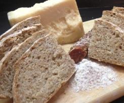 Pane integrale con patate a lievitazione naturale