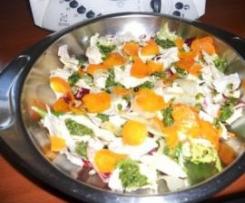 insalata di pollo con salsa verde