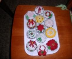 cupcake impasto moretta decorati in PDZ