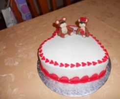 torta per s. valentino