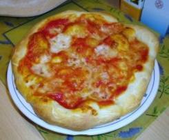 IMPASTO X PIZZA CON PASTA MADRE (ricetta della comunità La Pasta Madre riadattata x il Bimby)