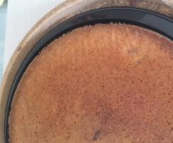 Torta miele e rosmarino con cannella